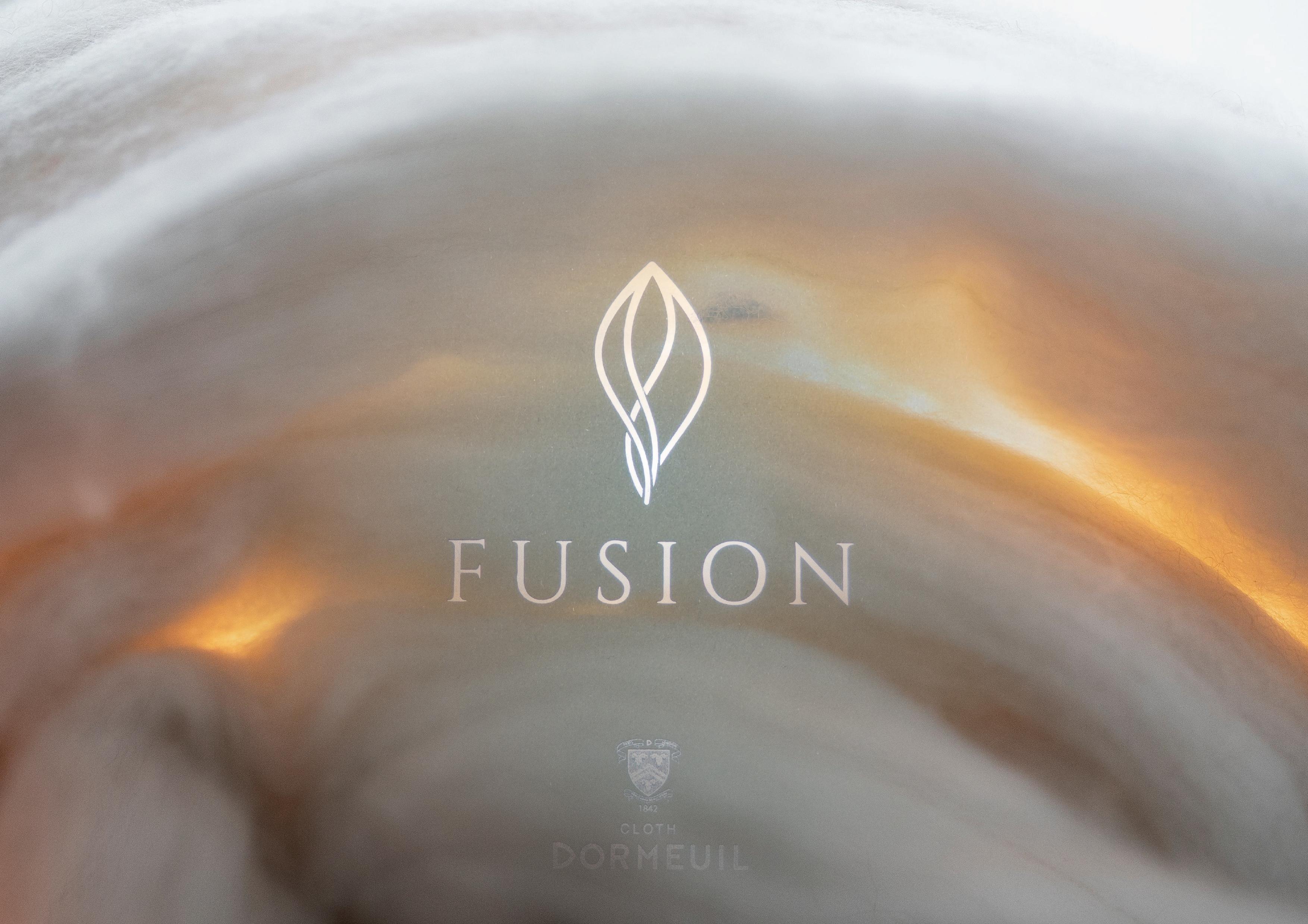 DORMEUIL 秋冬奢華立列推薦  FUAION  一款由多種珍稀材料完美混製而成的面料,品質卓你不凡